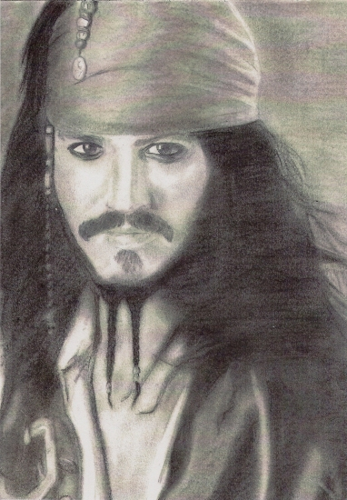 Johnny Depp by Antho